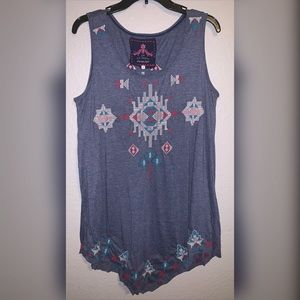 Johnny Was Tunic tank- size large